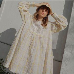 Urban outfitters Agatha Eyelet Babydoll Dress